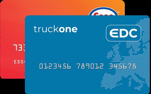 EDC-Tankpas & Esso Europe -Tankpas