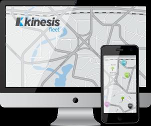 Kinesis GPS voertuig Tracking Systemen